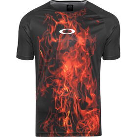 Oakley MTB Tech T-shirt Heren, flames